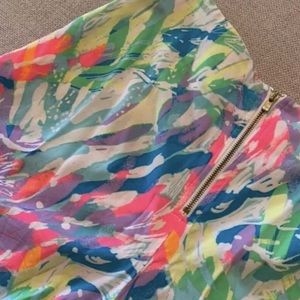 Lilly Pulitzer Linnea Shorts Sparkling Sands 00